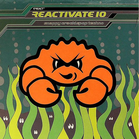Various - Reactivate 10 Snappy Cracklepop Techno (CD) Resist Music RESISTCD61