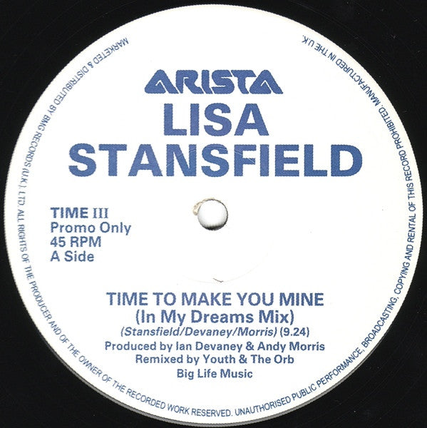 Lisa Stansfield - Time To Make You Mine 12