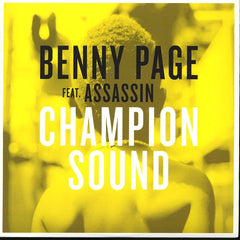 "Benny Page, Assassin - Champion Sound 12"" CULTURE008 High Culture"