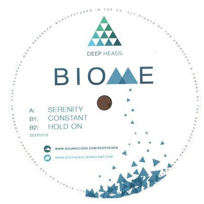 Biome ‎– Serenity - Deep Heads ‎– DEEPD018