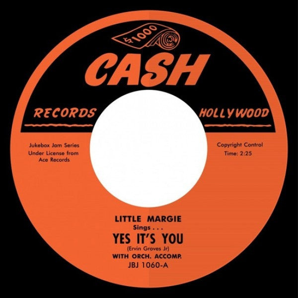 "Little Margie / Big Boy Groves & Little Margie - Yes It's You / Another Ticket 7"" JBJ1060 Jukebox Jam Series"