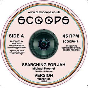 "Michael Prophet / Danman ‎– Searching For Jah / Tribulation 10"" Scoops ‎– SCOOP047"