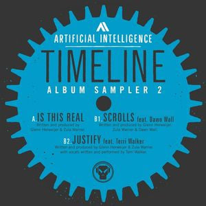 "Artificial Intelligence ‎– Timeline Album Sampler 2 12"" Metalheadz ‎– METALP06S2"