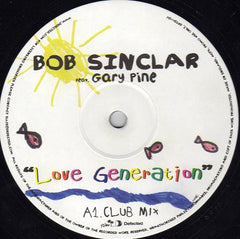 Bob Sinclar ‎– Love Generation - Defected ‎– DFTD111DJ