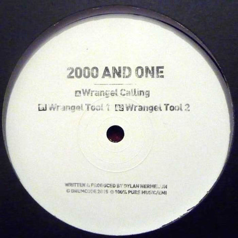 2000 And One ‎– Wrangel Calling - Drumcode ‎– DCLTD.16