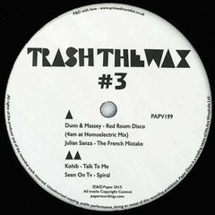 Various ‎– Trash The Wax 3 Paper Recordings ‎– PAPV199