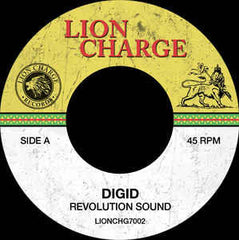 "Digid ‎– Revolution Sound 7"" Lion Charge Records ‎– LIONCHG7002"