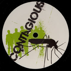 "Chimpo, Plastician, MRK 1 - Kryptonite 12"" CON007 Contagious Recordings"