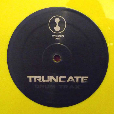 Truncate ‎– Drum Trax - Gynoid Audio ‎– GYNOID016