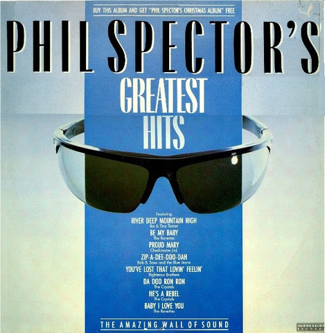 "Various - Phil Spector's Greatest Hits 12"" PSLP1 Impression Records"