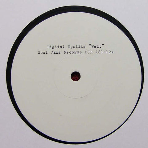 Digital Mystikz / Kode9 ‎– Wait / Magnetic City - Soul Jazz Records ‎– SJR 161-12
