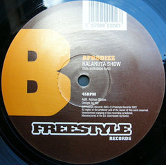 "Afrodizz - No Time / Kalakuta Show 12"" FSR005 Freestyle Records"