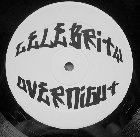"Unknown Artist - Celebrity Overnight 12"" PROMO CELEB001"