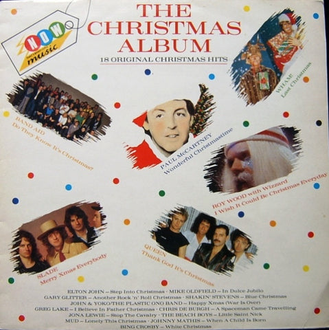 "Various - Now That's What I Call Music - The Christmas Album 12"" NOX1 EMI, Virgin"