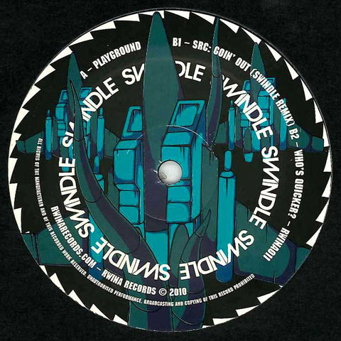 "Swindle - Playground 12"" RWINA011 Rwina Records"