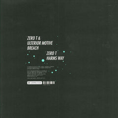 "Zero T, Ulterior Motive - Breach / Harms Way 12"" SUBTITLESUK003 Subtitles"