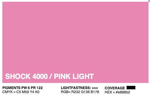 S4000 - Montana Cans Gold Acrylic Spray - Shock Pink Light 400ML