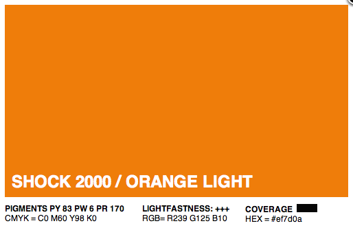 S2000 - Montana Cans Gold Acrylic Spray - Shock Orange Light 400ML