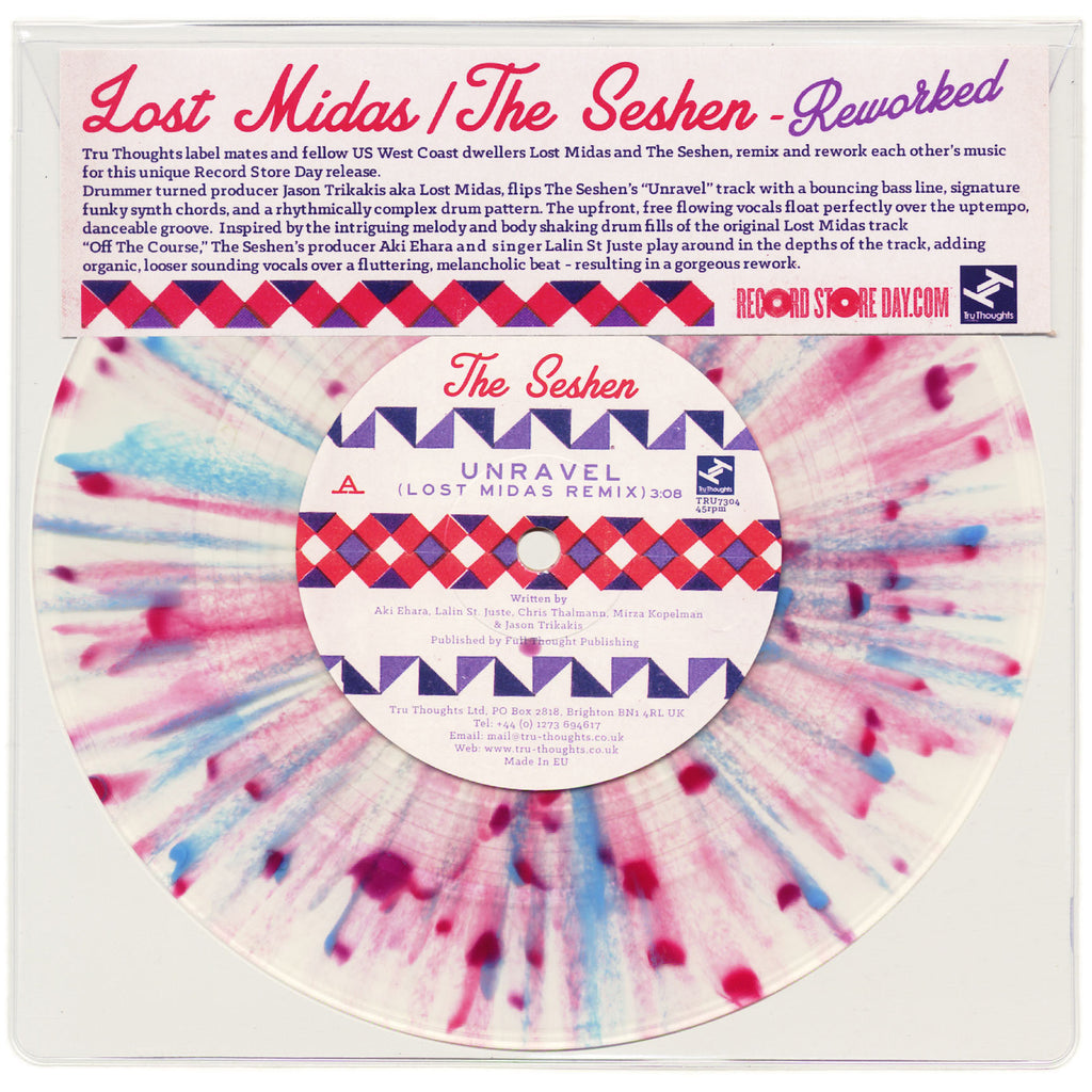 "Lost Midas, The Seshen - Reworked 7"" TRU7304 Tru Thoughts RSD"
