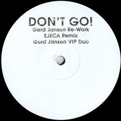 Julie McDermott ‎– Don't Go - PROMO ‎– GERDGO001