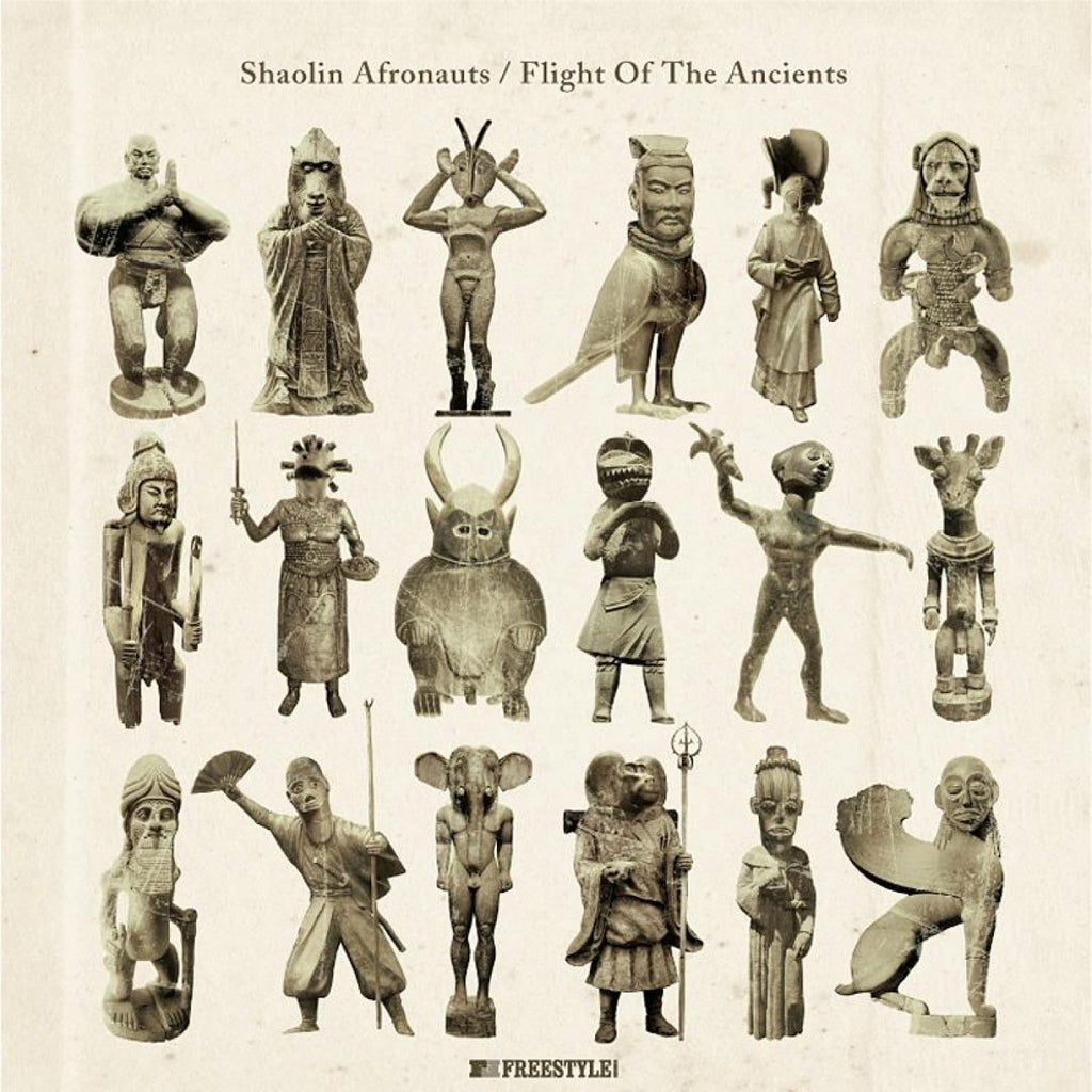 Shaolin Afronauts ‎– Flight Of The Ancients - Freestyle Records ‎– FSRCD085