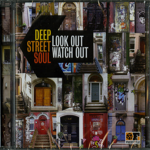 Deep Street Soul ‎– Look Out Watch Out - Freestyle Records – FSRCD092
