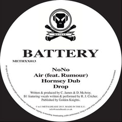 "Battery - NoNo / Air / Hornsey Dub / Drop 12"" Metalheadz ‎– METHXX013"