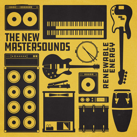 The New Mastersounds ‎– Renewable Energy - One Note Records ‎– ONRLP022