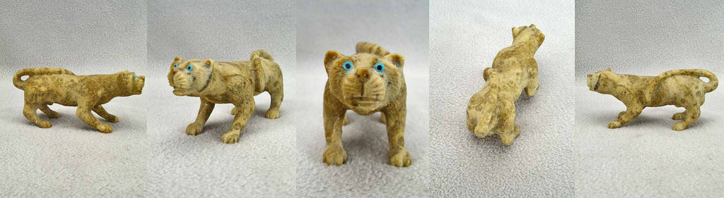 Picasso Marble Mountain Lion by Travis Lasiloo