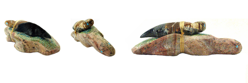 Serpentine & Picasso Marble Mole, Double by Jayne Quam