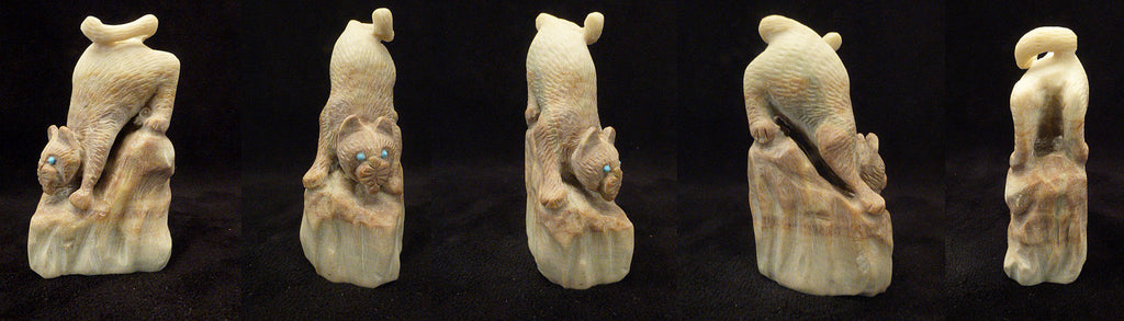Picasso Marble Mountain Lion by Wilfred Cheama