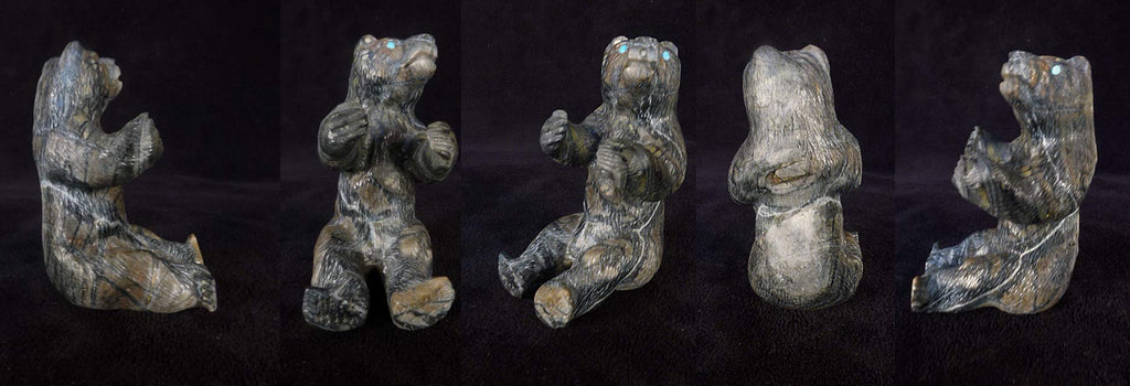 Picasso Marble Bear by Herbert Him