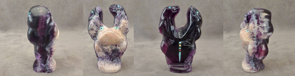 Fluorite Frogs by Jeff Shetima