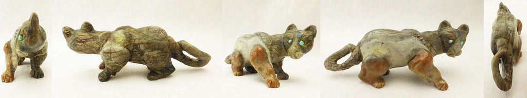 Picasso Marble Mountain Lion by Dan Quam