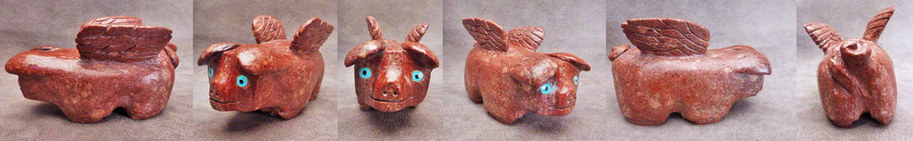 Marble Flying Pig by Danny Booqua