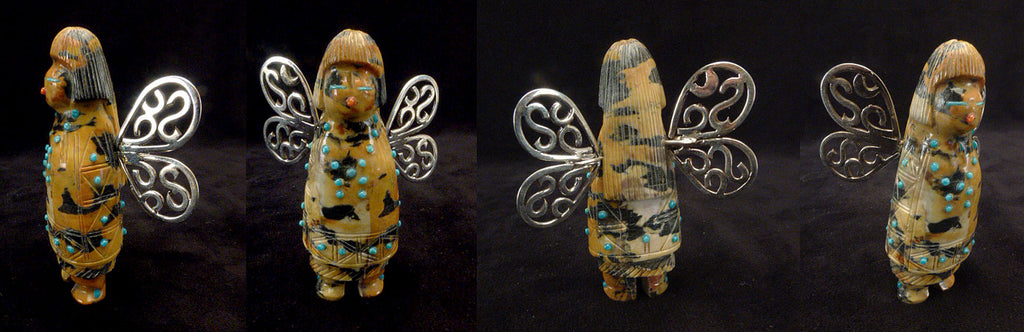 Leopard Marble Butterfly Dancer by Claudia Peina