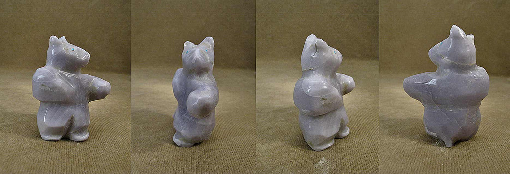Yttrium Fluorite Bear by Jimmy Yawakia