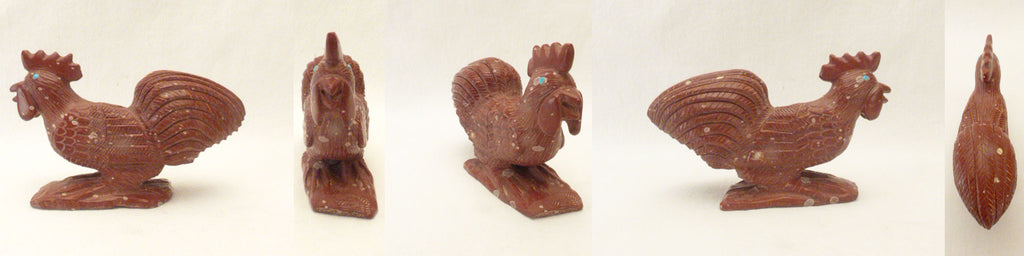 Pipestone Bird, Rooster by Derrick Kaamasee