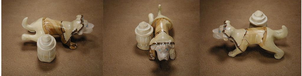 Picture Jasper Dog, Fire Hydrant by Bremette Epaloose