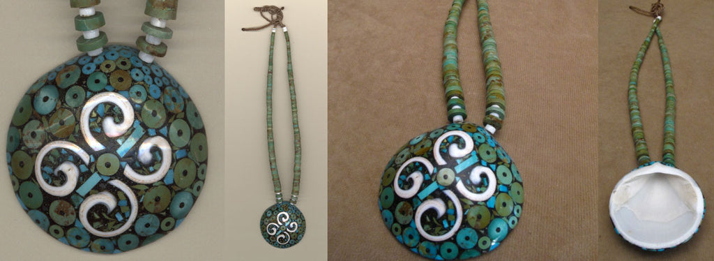 Turquoise* Necklace by Brian Yatsattie