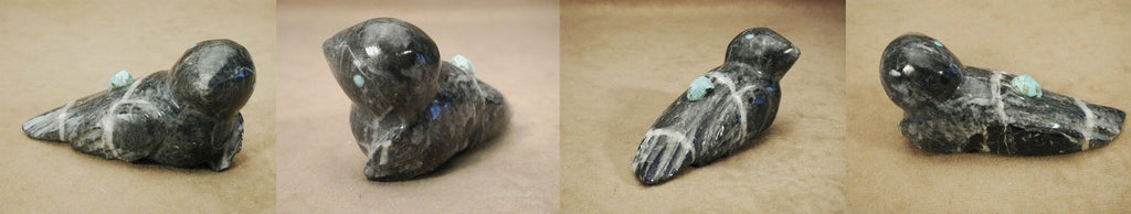 Picasso Marble Ground Bird, Eagle by Lorandina Sheche