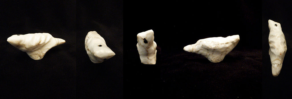 Howlite Bird by Sarah Leekya, Deceased