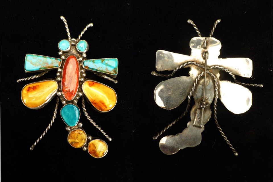 Multistone Insect, Dragonfly by Vernon Begay