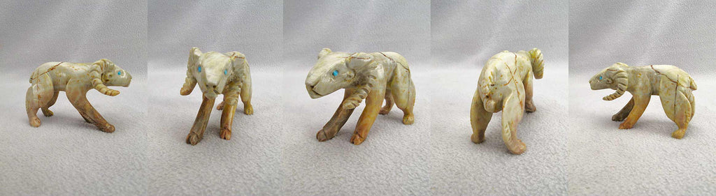 Picasso Marble Ram by Lance Cheama