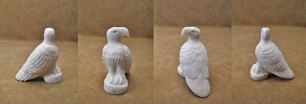 Marble Bird, Eagle by Bryston Bowannie