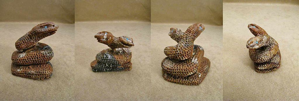 Picasso Marble Snake by Calvin J.  Weeka Sr.