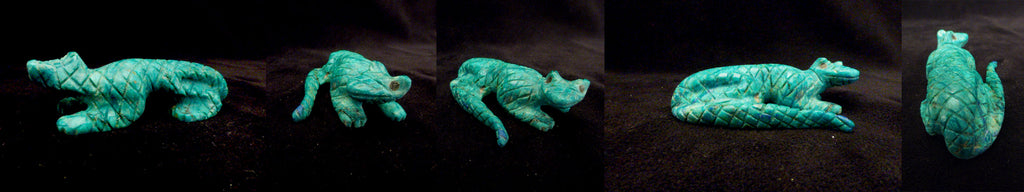 Chrysocolla Lizard by Cody Cheama