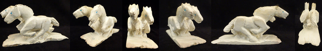 Serpentine Horse, Double by Herbert Him Jr.