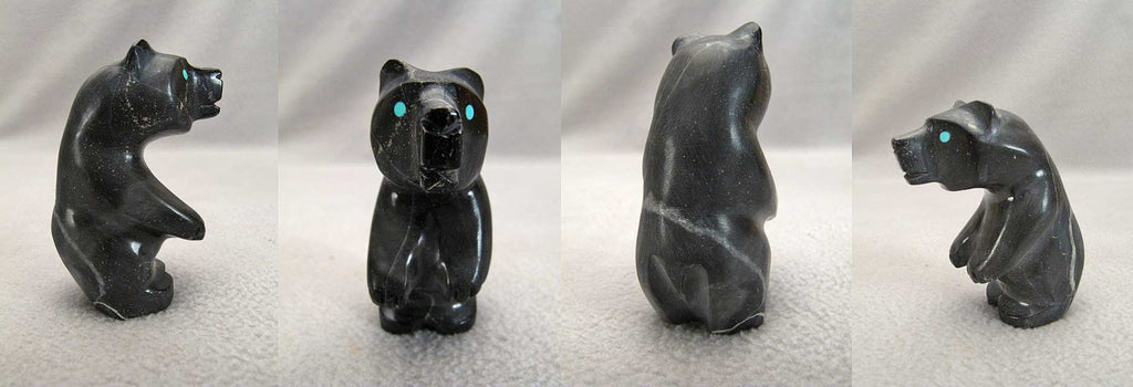 Picasso Marble Bear by Dee Edaakie