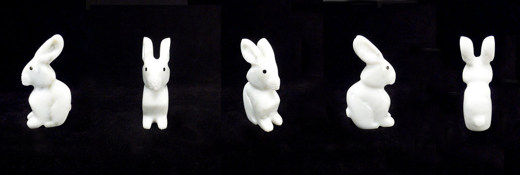 Marble Rabbit by Andres Lementino